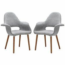 Poly and Bark Barclay Dining Chair, Light Grey (Set of 2)