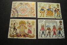 GB 1981 Commemorative Stamps~Folklore~Very Fine Used Set~(ex fdc)UK Seller