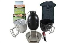 BCB CN004SB CRUSADER COOKING SYSTEM SILVER 8 PIECE SET BLACK POUCH