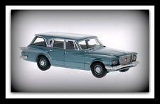 wonderful modelcar Plymouth Valiant Station Wagon 1960 - bluemet. - scale  1/43