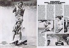 COUPURE DE PRESSE CLIPPING 1978  Mario Andretti  (2 pages)
