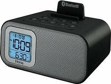 iHome IBT22 Bluetooth Wireless Speaker Dual Alarm Clock with USB Charging NEW