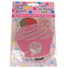 Car Air Freshener Scent Fragrance NPW Van Fairy Cake Hanging Strawberry Sprinkle