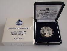 2005 Milizia Miliz 10 Euro Silber PP San Marino Gedenkmünze silver argento