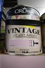 Crown Vintage Flat Matt Emulsion Paint For Interior Walls Ceilings Hot Pink