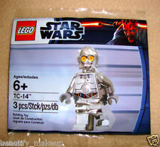 LEGO STAR WARS EXCLUSIVE TC-14 SILVER CHROME C-3PO 5000063 CP3O