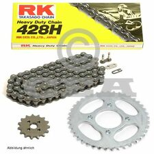 Kettensatz Hyosung GT 125 03-13, Kette RK 428 H 140, offen, 14/52