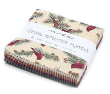 Moda Cardinal Reflection by Holly Taylor -Flannel Charm Pack - 42 5-inch squares