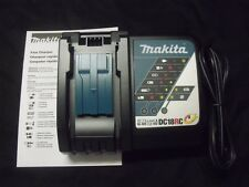 New Genuine Makita DC18RC Multi-Volt LXT Rapid 18v Lithium-Ion Battery Charger