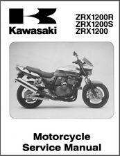 01-07 Kawasaki ZRX1200R ZRX1200S ZRX1200 Service Repair Manual CD - ZRX 1200 ZR