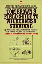 Tom Brown's Field Guide to Wilderness Survival, Tom Brown, Acceptable Book