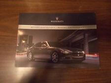 2008 Maserati Quattroporte/Quattroporte S 92-page Prestige Sales Catalog