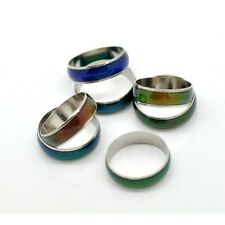Wholesale Bulk Lot 20 Channel Band Mood Rings in Assorted Sizes