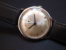Vintage men's Zenith 3600 automatic all original rare model with date great!!