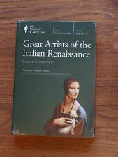 Teaching Company great courses-Great Artists of the Italian Renaissance  New DVD
