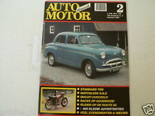 AMK 1994-02 STANDARD TEN,MATCHLESS G3LS,DUCATI CUCCIOLO,GOODWOOD,ROUTE 66,BEUK