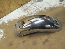 suzuki gs550 gs550L rear back chrome fender mud guard GS750L 1980 1981 1982