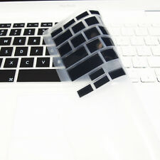 "FULL BLACK Silicone Keyboard Skin Cover  for Old Macbook White 13"" (A1181)"