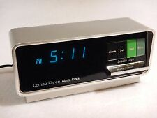 Compu Chron Digital Alarm Clock with Snooze CompuChron Vintage Model 5920