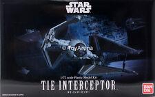 Star Wars 1/72 Scale Tie Interceptor Model Kit USA SELLER READY TO SHIP