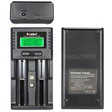 Smart Battery Charger for Li-ion/LiFe/NiMH/Ni-Cd 9V/3.7V/3.2V LCD USB I4O9
