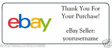 60 Personalized eBay Seller Thank You Stickers Address Labels