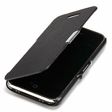 Apple iPhone 3g 3gs Slim Flip case cover funda, funda protectora, estuche, negro