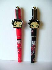 BETTY BOOP PENS TWO (2) PIECE SET RB  (RETIRED ITEM)