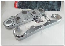 HONDA VTX1800 VTX1800C/C1/F1 KURYAKYN CHROME TRIPLE CLAMP/TREE CUSTOM COVERS