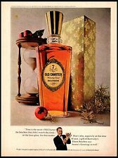 1964 Old Charter Bourbon Hour Glass Kentucky's Finest Vintage Print Ad