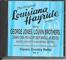 CD COMPIL 20 TITRES--THE ORIGINAL LOUISIANA HAYRIDE ARCHIVES--JONES/CASH/ACUFF