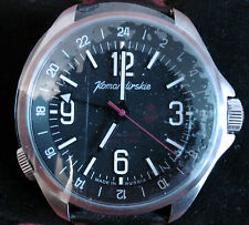 Wrist Automatic Watch VOSTOK KOMANDIRSKIE Commander Military K-34 470612 Gift