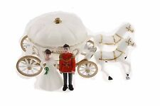 Cinderella Coach Wedding carriage Favor Plastic with princess and prince