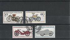 Alemania - 1983-Motor Cycles-Set (4V) - Very Fine Used