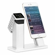 ZIKU Charging Stand Dock Station for all Apple Watch 2/1 iPhone 7/7 plus/SE/5s/6