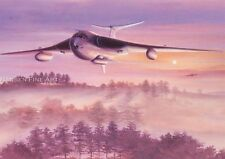 Handley Page Victor V Bomber Jet Aircraft Plane Blank Birthday Fathers Day Card