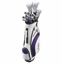Wilson Ultra Womens Ladies Right Handed Complete Golf Club Set w/Bag | WGGC27100