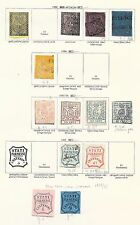Italian States/PARMA stamps 1852 Collection of 13 CLASSIC stamps  HIGH VALUE!