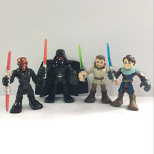 Promotion 4pcs Star Wars Playskool Galactic Heroes Jedi Force Collection Figure