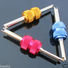 RED/Blue Valve Stem Core Remover Car Truck Tire Dual Repair Install/Remove Tool