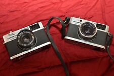 Lot of Two Olympus 35 RC 35mm Rangefinder Film Cameras