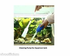 Gravel Cleaning Siphon Pump - Easy Maintenance Water Quality  - Aquarium Tank