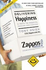 Delivering Happiness: A Path to Profits, Passion and Purpose Paperback Very Good