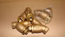 1/2'' Kitz # 15 ( AKYU ) Bronze Y-Strainer Valve New Threaded End Class 150