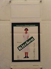 KITCHEN commedia regia Yoshimitsu Morita locandina orig. 1994