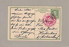 Österreich 1908 Jubiläums-Korrespondenz Karte Wien - HIRTENBERG Leobersdorf