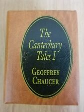 The Canterbury Tales I Del Prado Miniature Book Doll House Geoffrey Chaucer