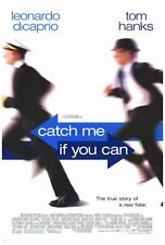 """CATCH ME IF YOU CAN Movie Poster [Licensed-NEW-USA] 27x40"""" Theater Size"""
