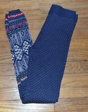 Juniors Ugly Sweater Legging Size XS Legging SO Authentic American Heritage