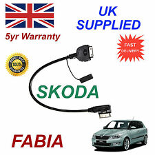 Skoda Fabia AMI MMI AZO800001 For Apple iPhone 3gs 4 4s iPod Audio Cable